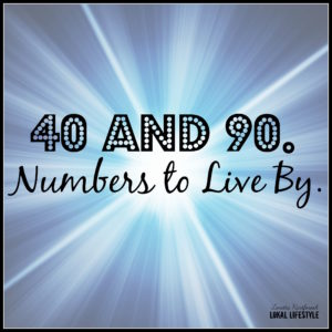 The 40% Rule and 90 Second Rule are two numbers to live by. Learn how to incorporate both rules into your life to create a stronger version of you.