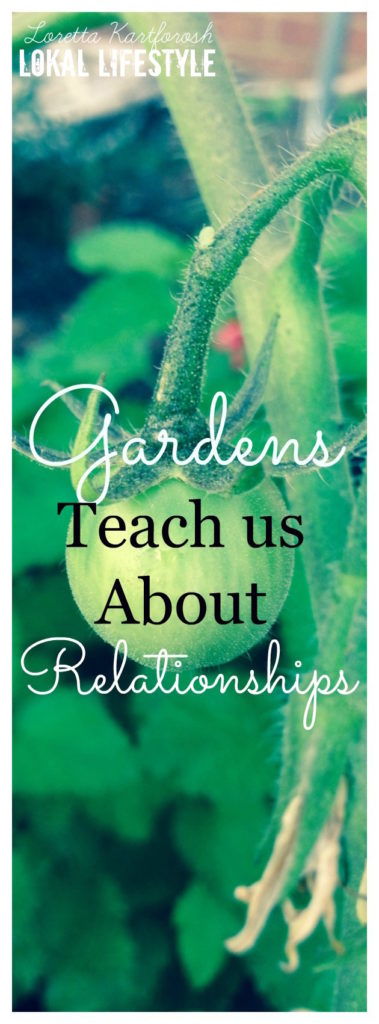 See how gardens can teach us lessons about relationships.