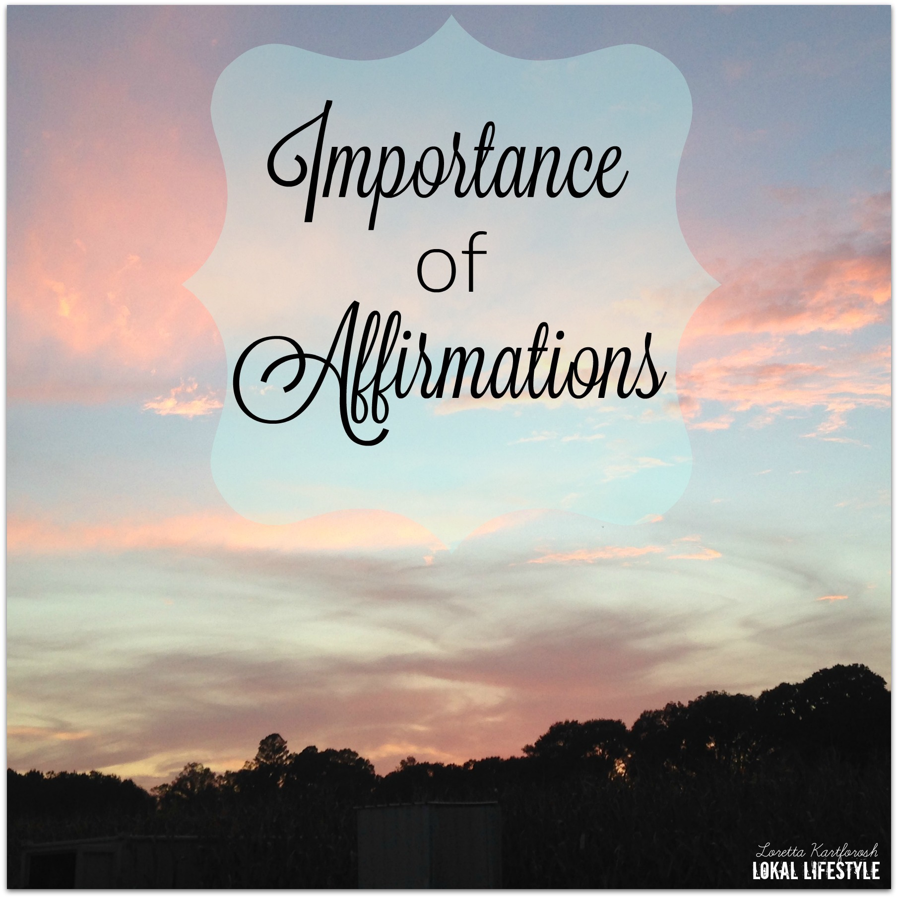Importance of Affirmations