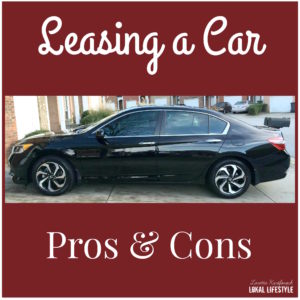 What are the pros and cons to leasing a car?