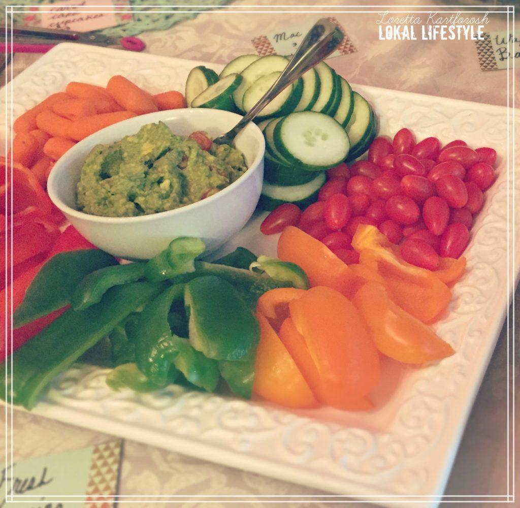 Veggie Tray & Guacamole