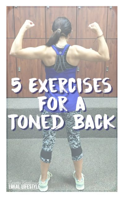 5 Exercises for a Toned Back