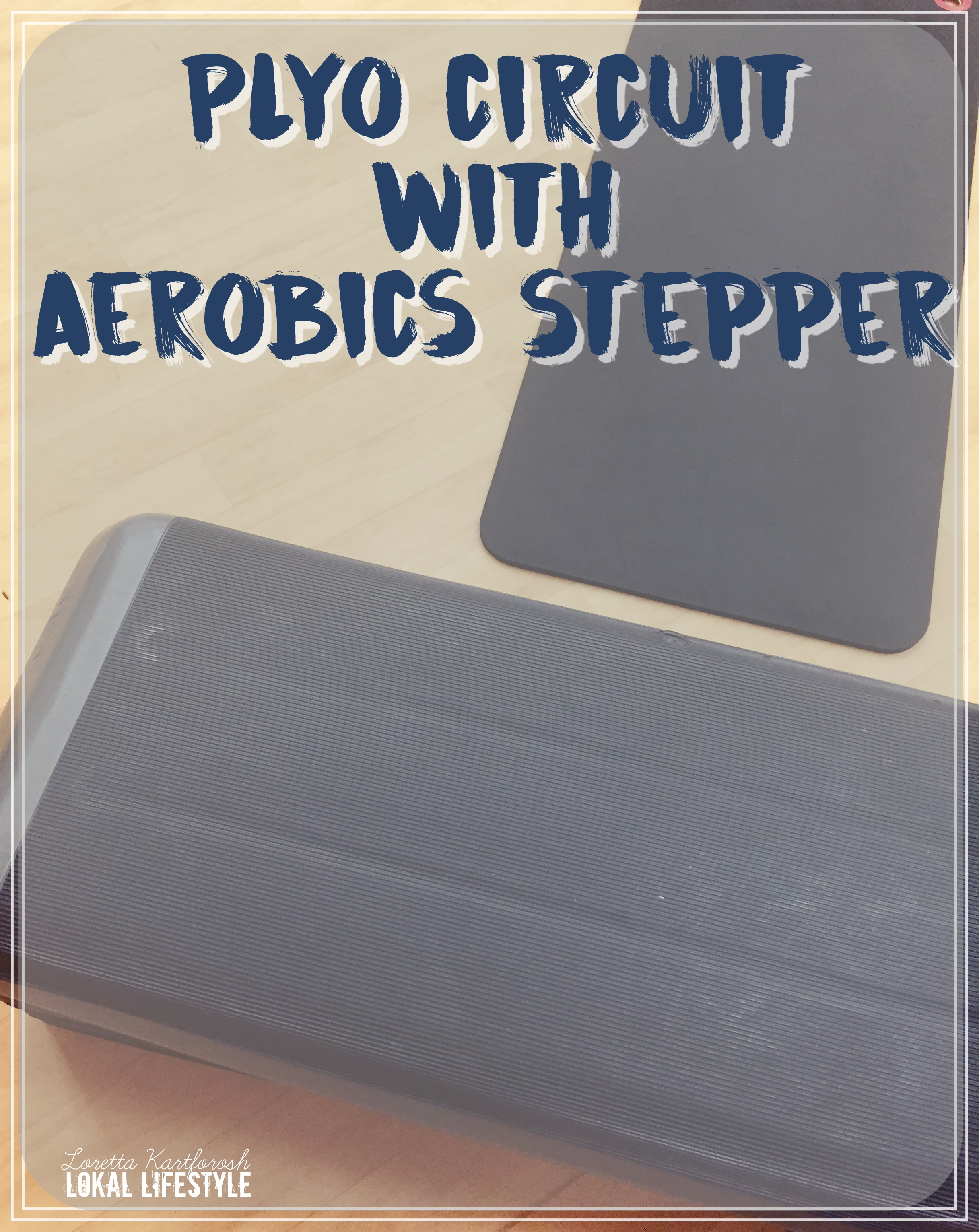 Plyo Circuit with Aerobics Stepper