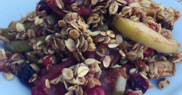 Vegan Apple Crisp Recipe