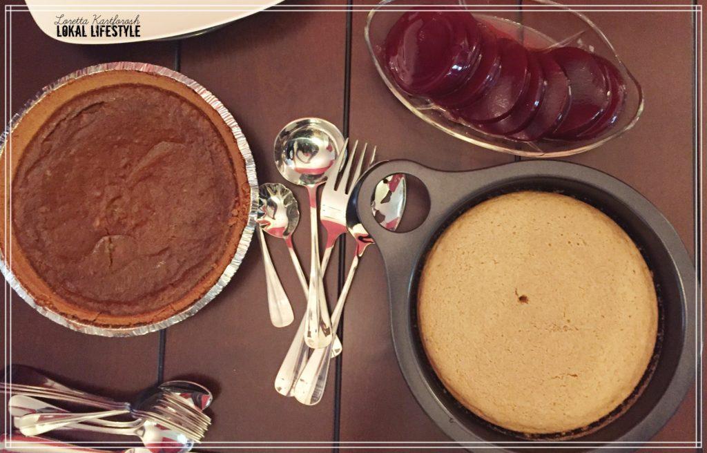 pumpkin pie & cornbread