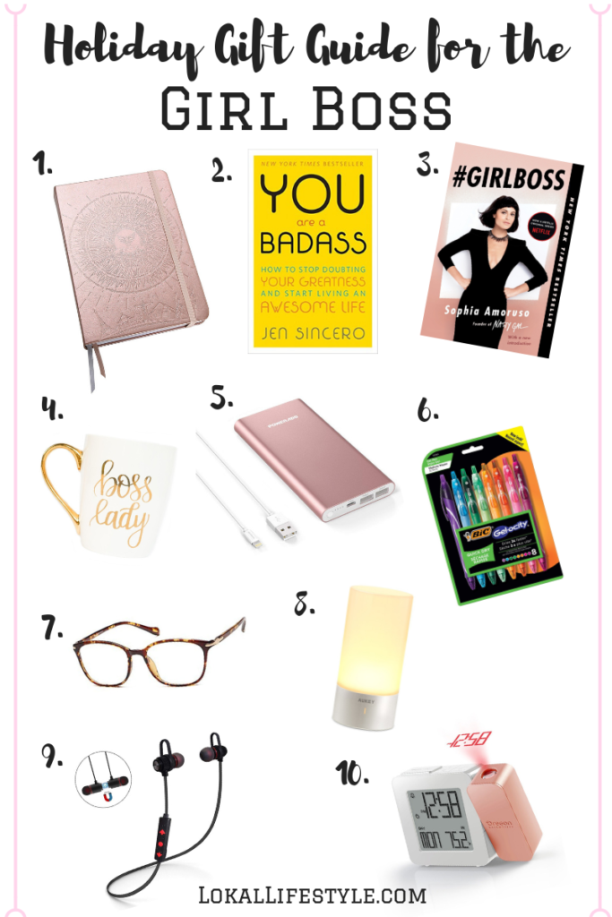 Girl Boss Holiday Gift Guide
